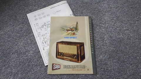 SABA Schwarzwald Automatic 6 - 3D
