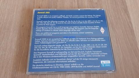 CD: EUROCALL 2003