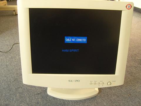 15 Zoll LCD-Monitor 12V